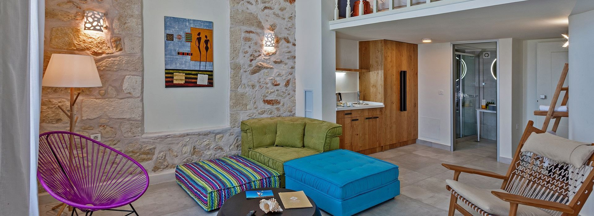 Executive Suite with Sea View (Split Level)