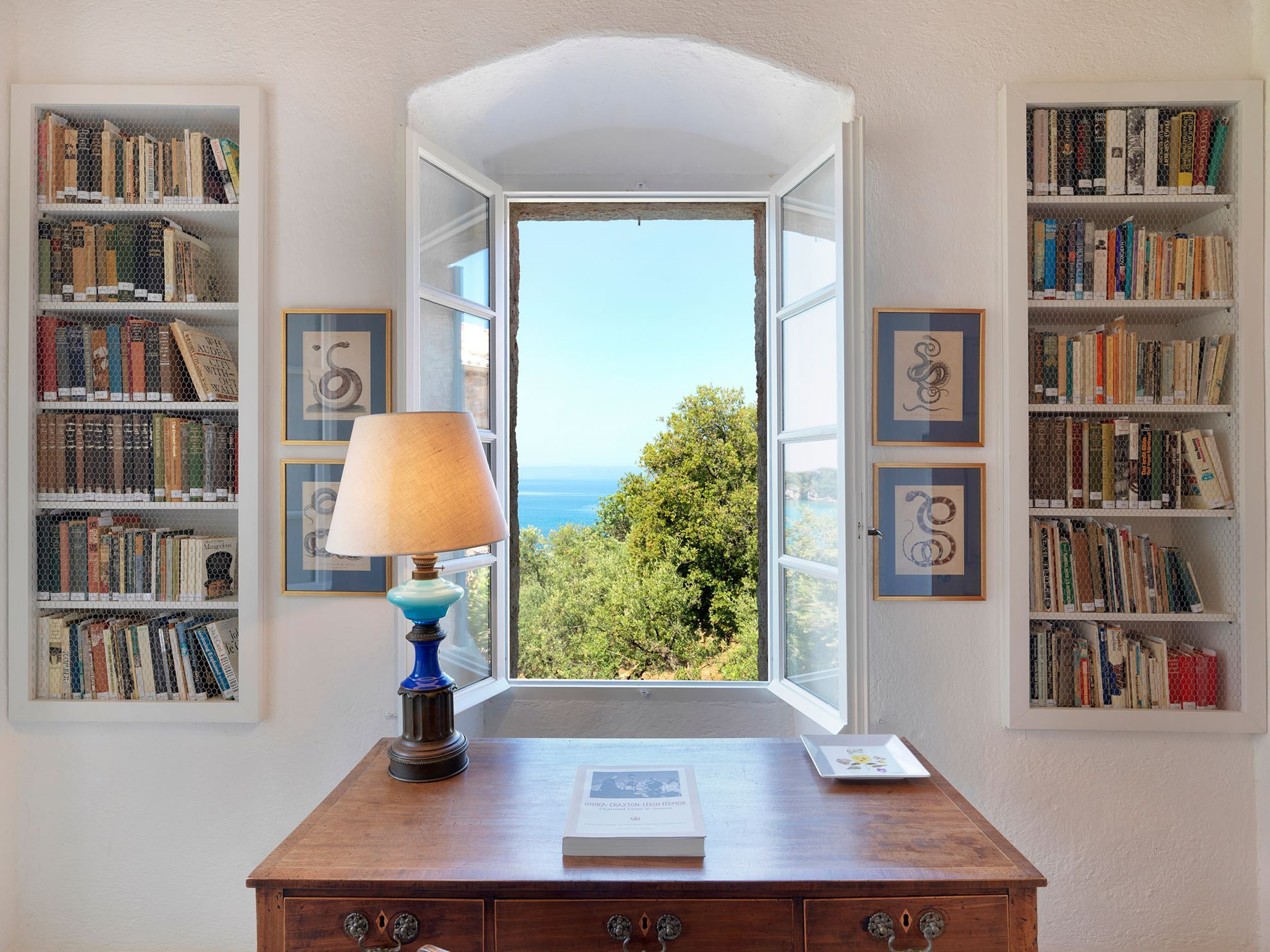 The Patrick & Joan Leigh Fermor House