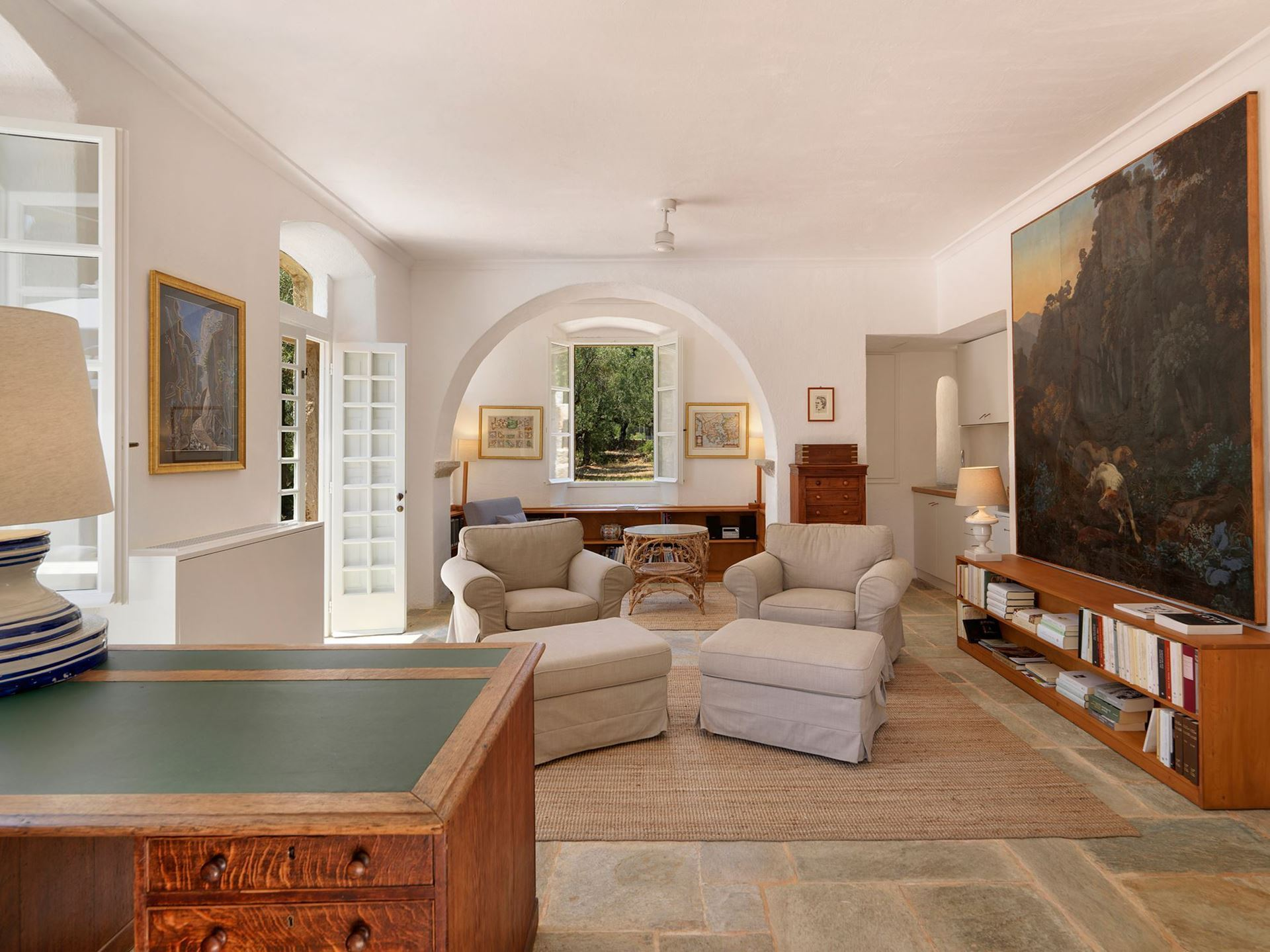 The Patrick & Joan Leigh Fermor House - Traditional House