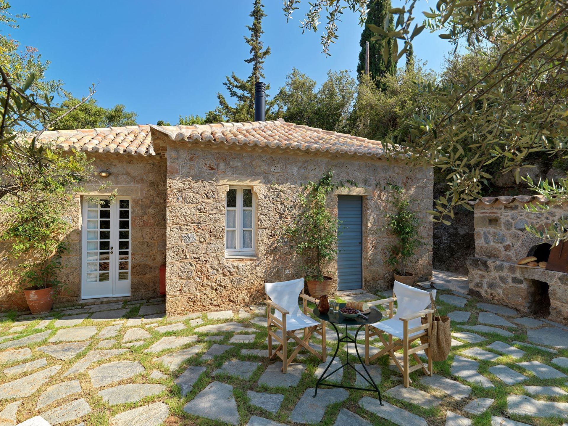 The Patrick & Joan Leigh Fermor House - Guest House